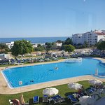 View from bar algarve brisa sol of the swimming pool