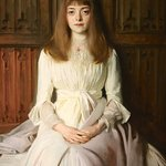 """The Young Lady in White"" by John Singer Sargent"