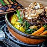 Zinzi Restaurant Moroccan Lamb Shank Tagine