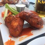 The chicken wings, so good.