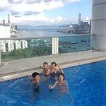 天台海景游泳池