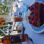 Tarte sablée fraises Baba au rhum