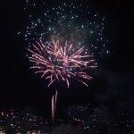 I fuochi d'artificio.