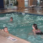The kids loved the pool, and it was a great aid in helping them sleep