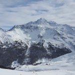 La Plagne - View of Mont Blanc