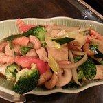 Gemüse mit Austernsoße!