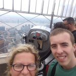 On top of the Empire State