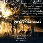Join us for a delightful Fall Weekend of total horsemanship!