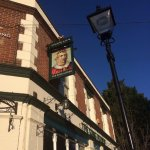 The handsome King Alfred pub