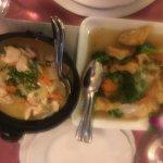 poulet curry et tofu