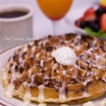Have a Taste of Our Cinnaroll Waffle!!!