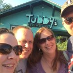 Our little group at Tubby's