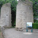Entrance to the Castle from Knaresborough Town