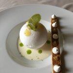 Dessert sur le thème du citron...