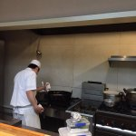 All dishes cooked in open kitchen