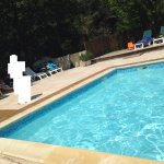 one part of the swimming pool