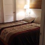The bedroom with en-suite bathroom