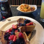 The filling station's french toast