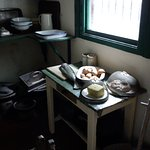 kitchen reproduction in Folk Museum