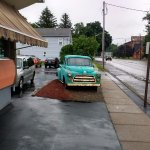 What would a diner be without an old truck out in front.
