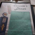 Connie's menu.