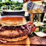 sausage & onion sub roll