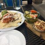 Vegan Nachos, pickled veggies and nuts!
