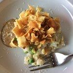Artichoke risotto appetizer