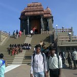 Outside The Vivekanand Rock Memorial