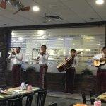 Mariachi band at Los Chilaquiles
