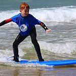 O'Neil Surf Academy lesson with Adam (up after 1 hour or so)