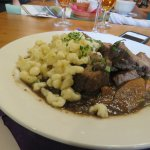 The braised beef - give me a bucket full please!