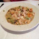 Flavorful shrimp tortellini