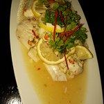Steam fish with lemon