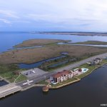 Oasis Suites Hotel is located on the Nags Head Causeway------water is everywhere!