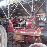 One of the local built traction engines