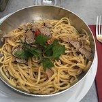 Linguini aux truffes (really good)
