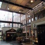 Inside Refurbished Area - Food Court type area