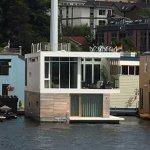 Mid Century Modern style Houseboat