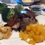 Lamb dinner
