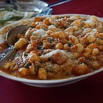 Gnocchi with tomato basil sauce