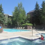Swimming Pool, Park Station Resort Condominium, Park City, Utah