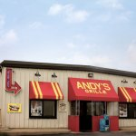 Andy's Grill & Frozen Custard -- Location at 16973 Vincennes Ave in South Holland, IL