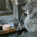 YOu wash your hands an your mouth before you enter a Buddhist temple.