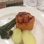 Dried veg platter