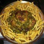 Plat  traditionnelle marocain berbère