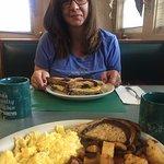 standard diner breakfast fare