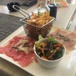 Tuna and mahi tartare appetizer ... delicious!