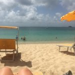 View of beach from Captain Frenchy's beach chair