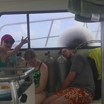 Long day of diving but relaxing boat group!